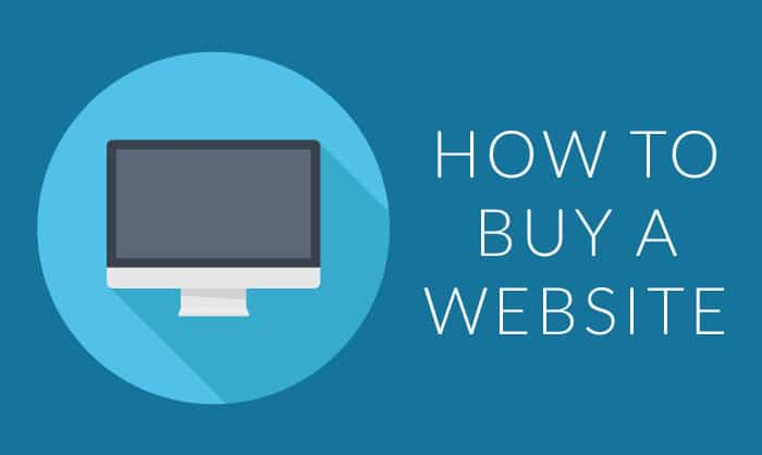 Read about How do I buy a new website?