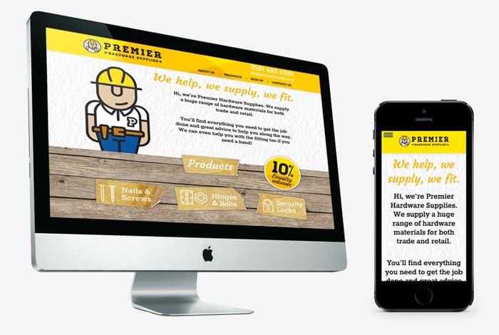 Premier Hardware Supplies Website