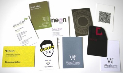 Read about 25 cool business cards