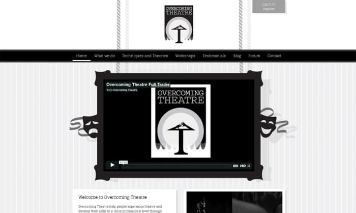 Read about Overcoming Theatre website