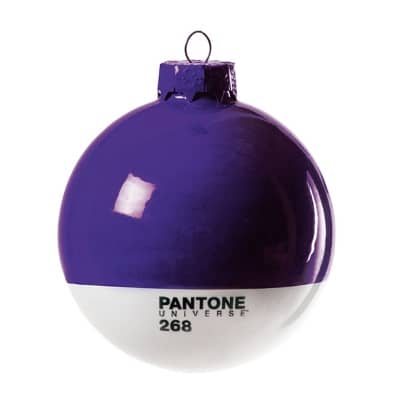 The ideal bauble for a design buff.
