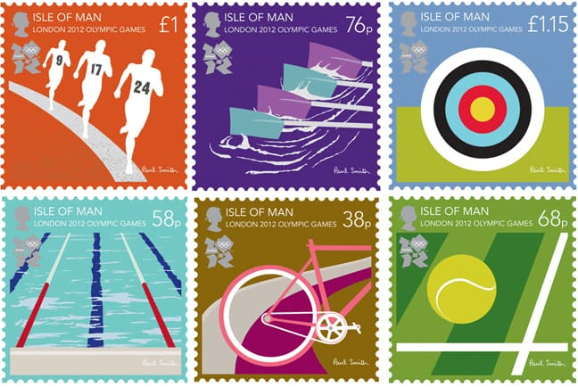 Isle of Man Post Office stamps