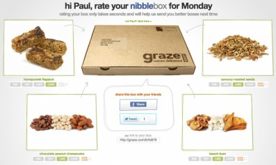 Read about The graze experience