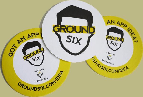 Groundsix beer mats