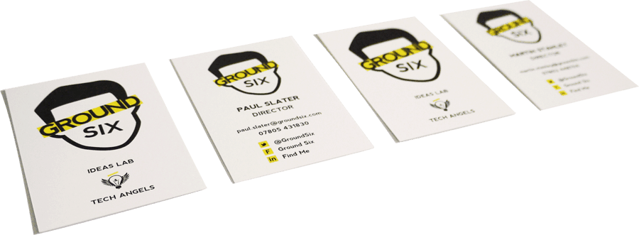 Groundsix business cards