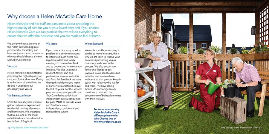 Helen McArdle Care print work