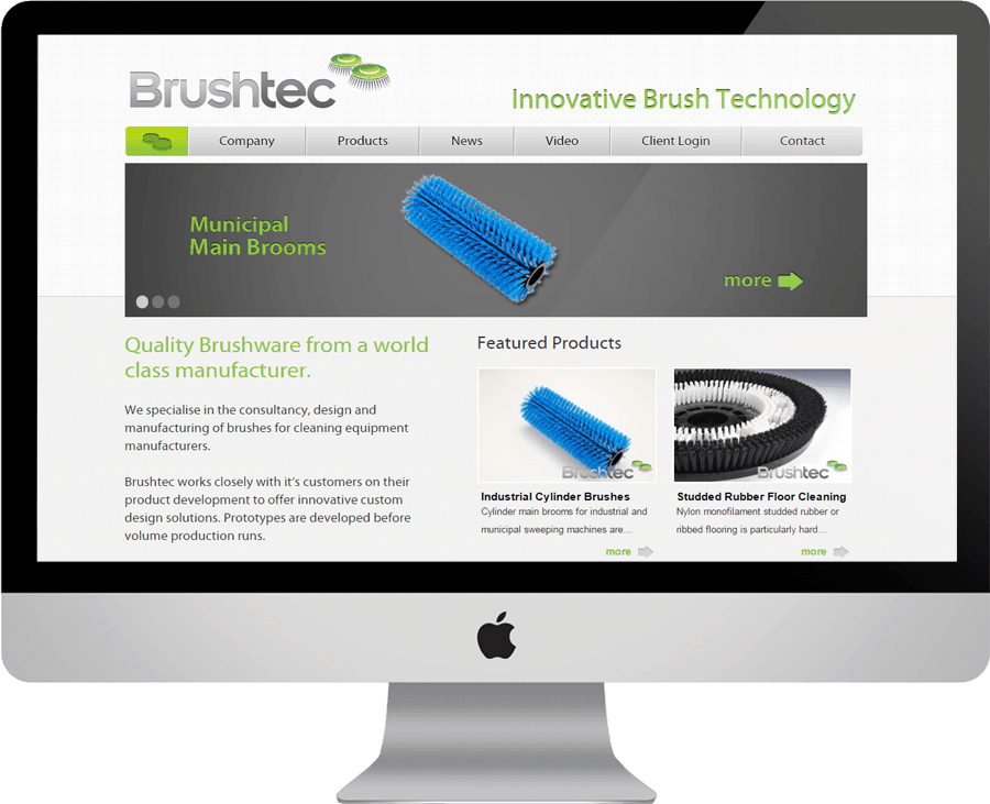 Brushtec on desktop