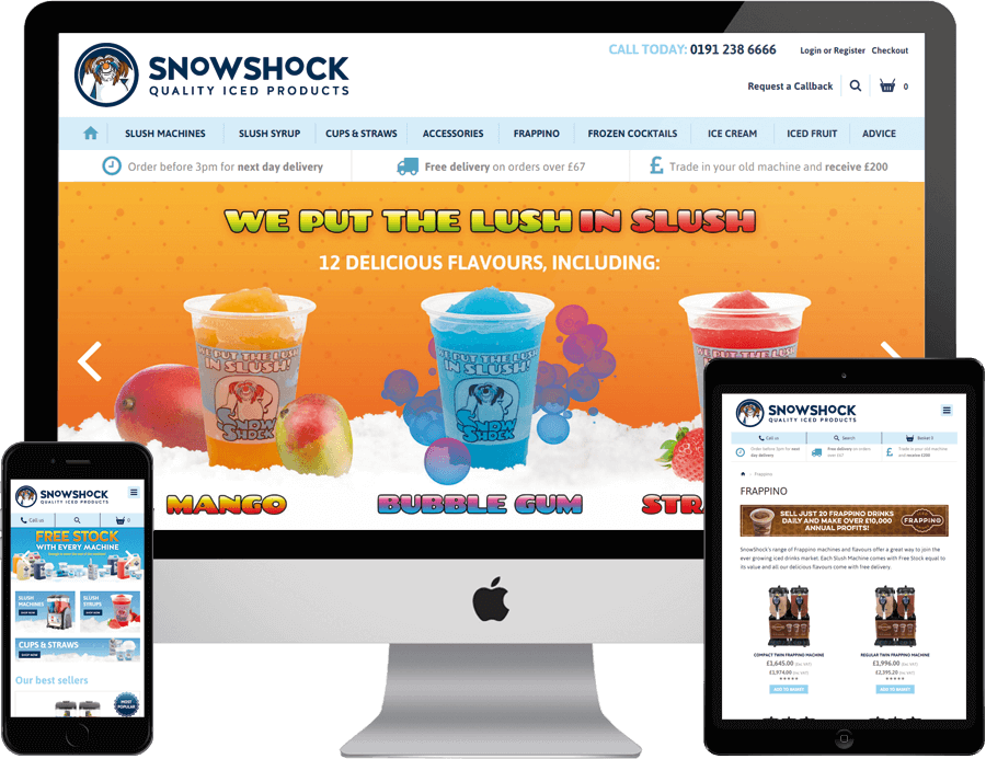 SnowShock website
