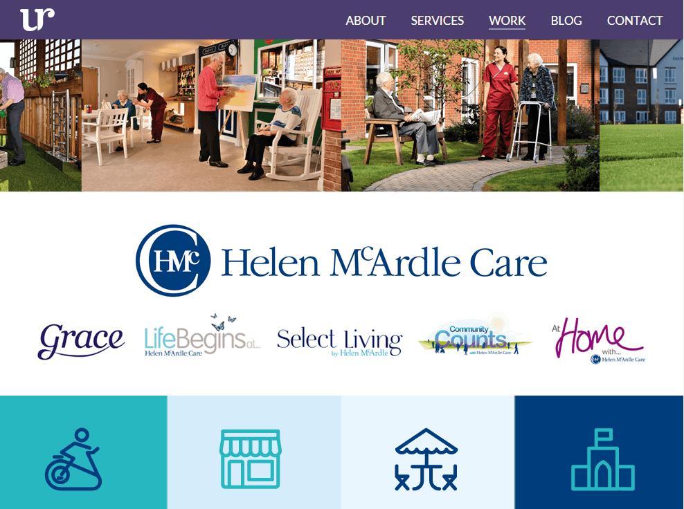helen mcardle work examples