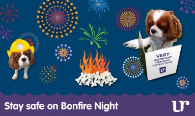 Read about Stay safe on Bonfire Night