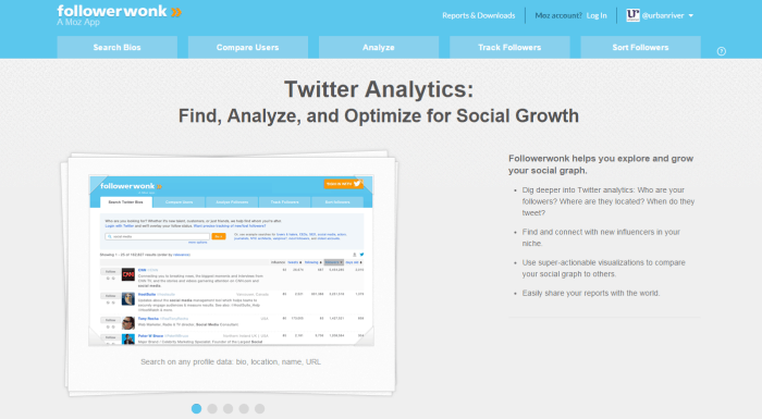 Read about Grow your Twitter followers using Followerwonk