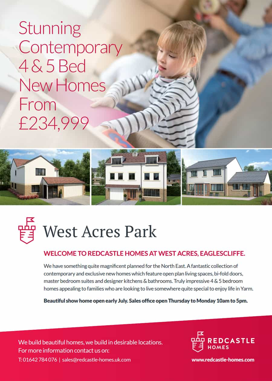 Redcastle Homes advert