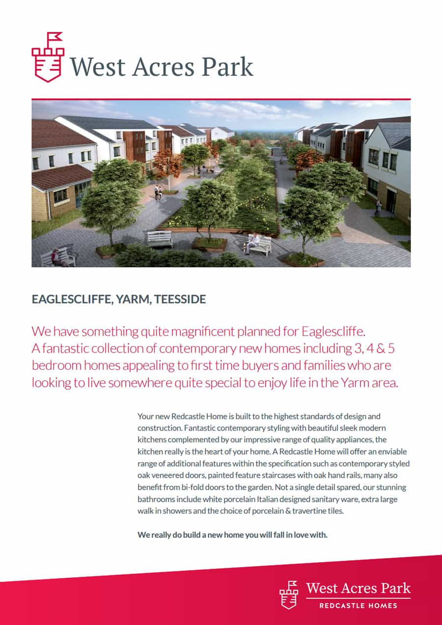 Redcastle Homes brochure