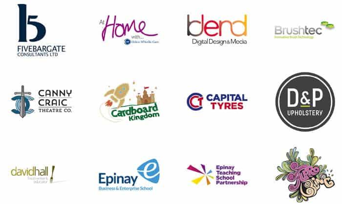 Strong brand logos