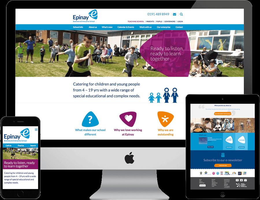 School website examples