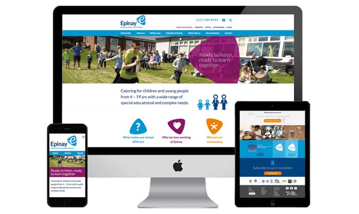 Read about School Website Design Examples