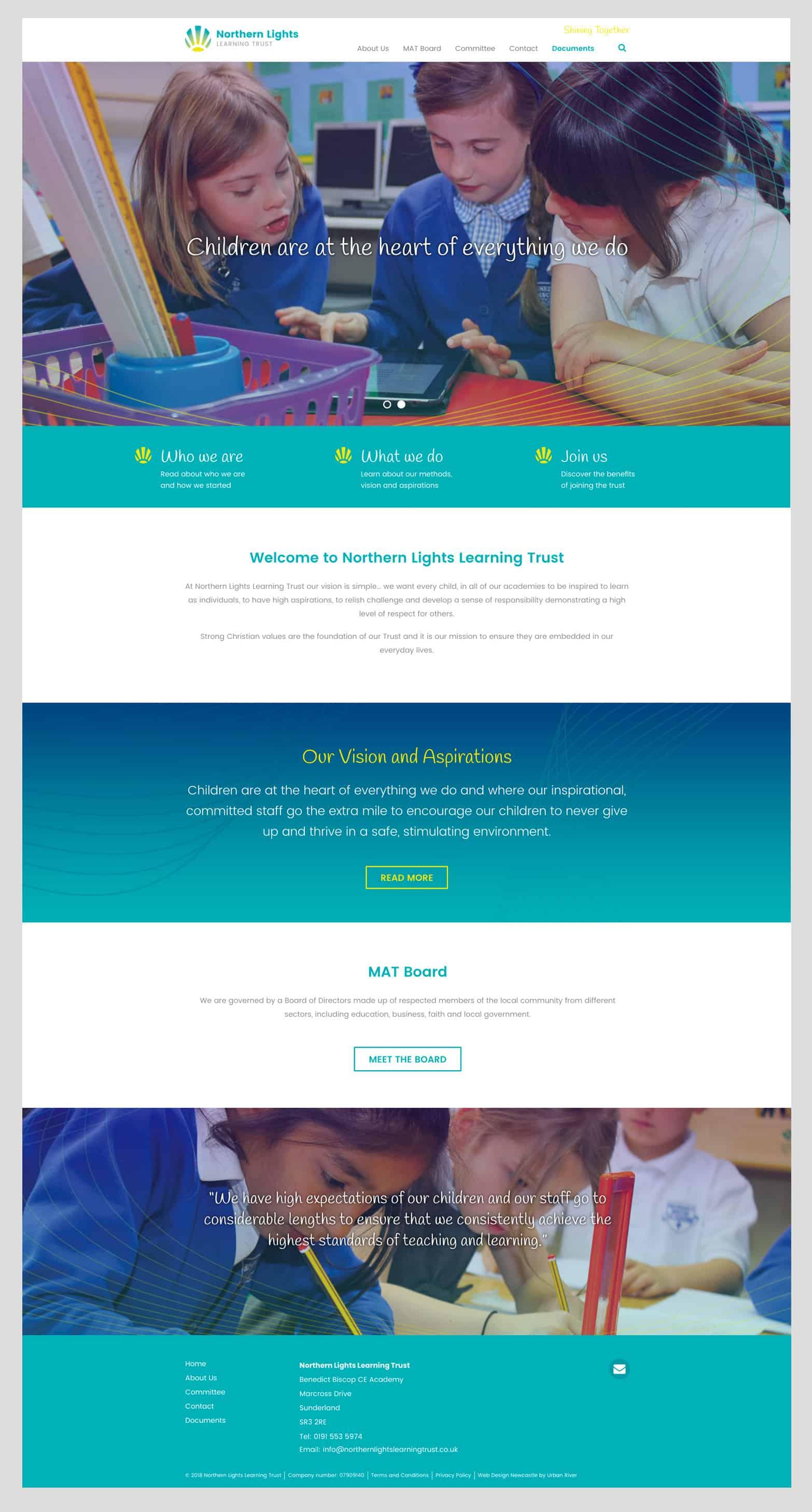 School trust website
