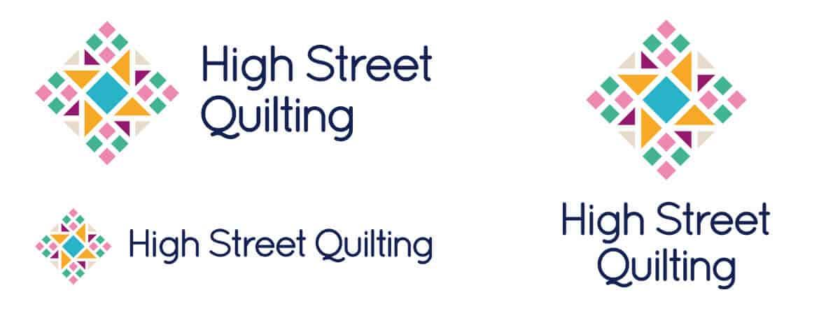 High Street Quilting logos